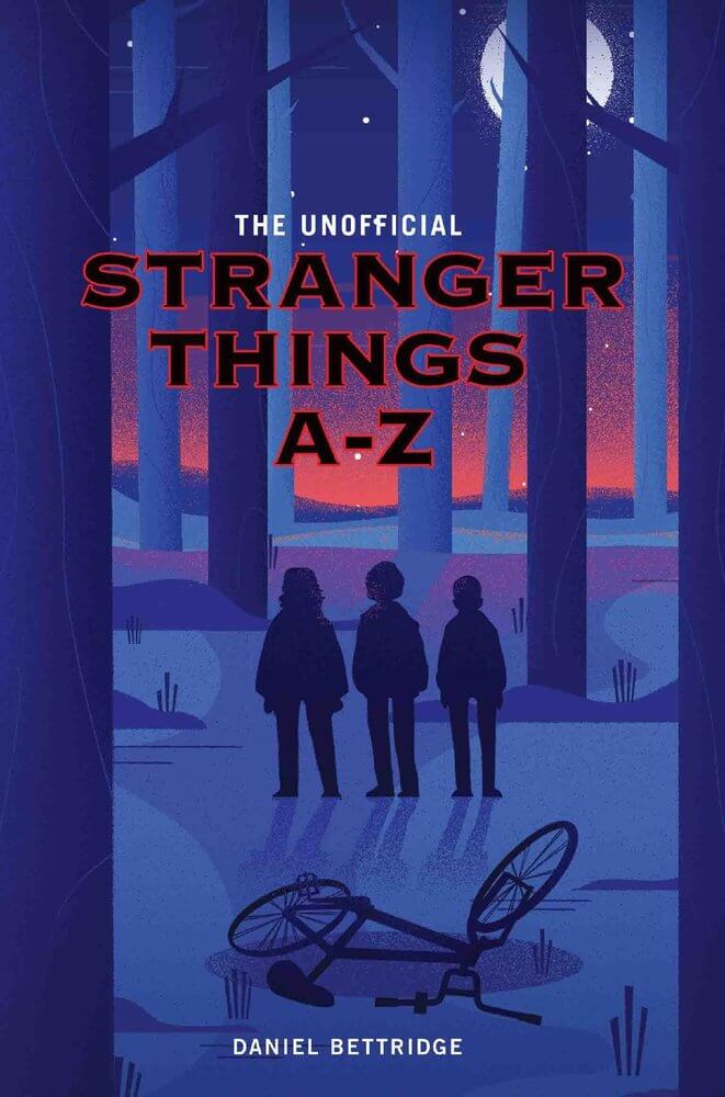 A-Z Stranger Things Book cover